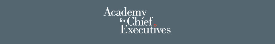 Academy for Chief Executives Blog Rotating Header Image
