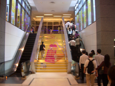escalator-and-stairs - finding your default alternative