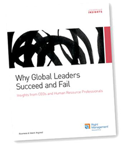 Chally Study - Why Global Leaders Succeed and Fail