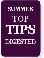 summer top tips