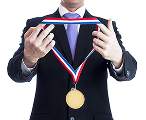 medalling-in-business