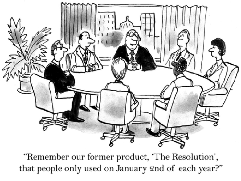 Humour – Corporate take on New Year resolutions – Academy for Chief ...