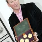 Sir Matthew Pinsent medals